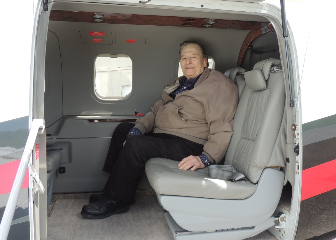 Anthony on board ready to head to Teterboro NJ with Kenny Painter