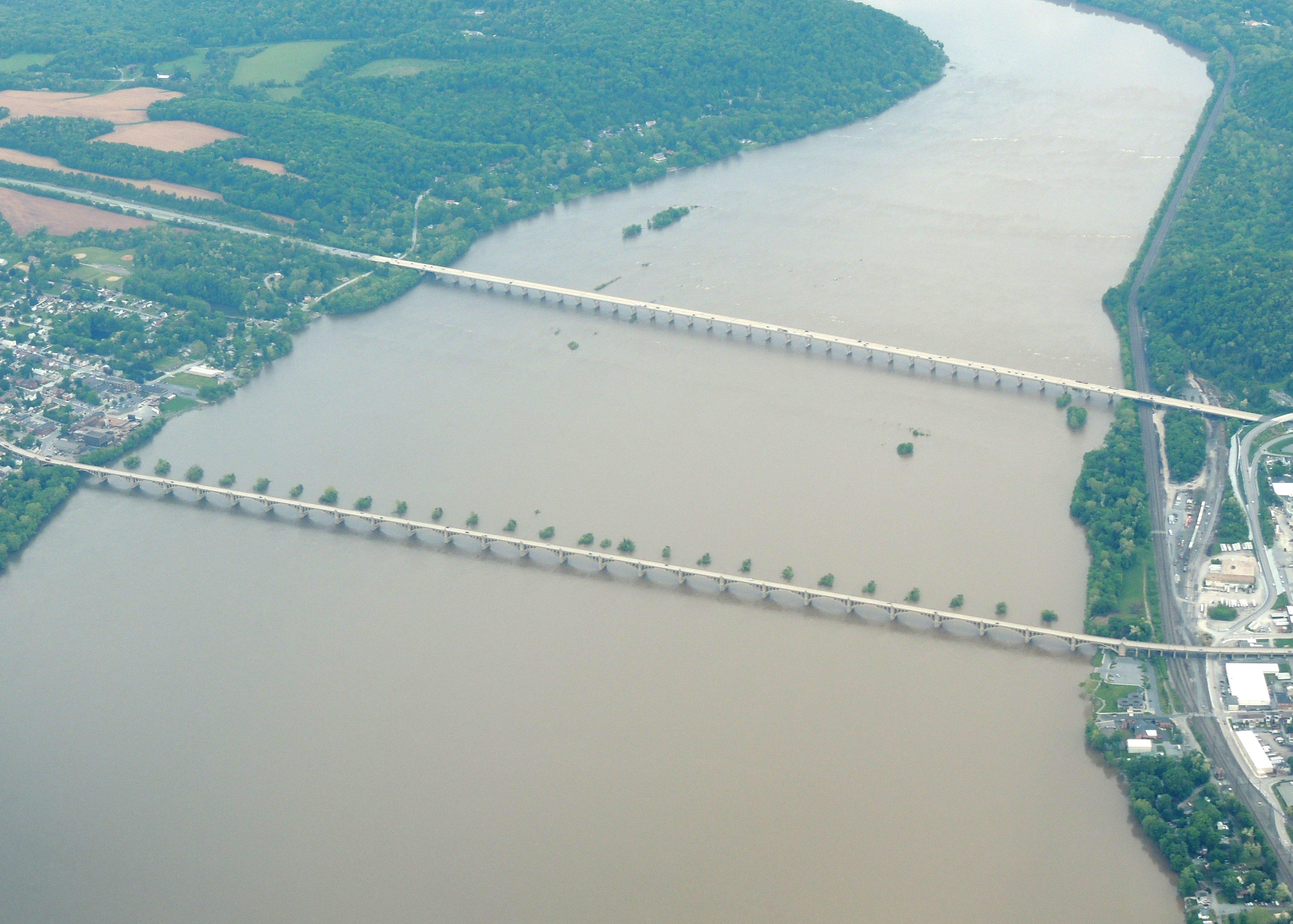Bridges over the Susquehanna River