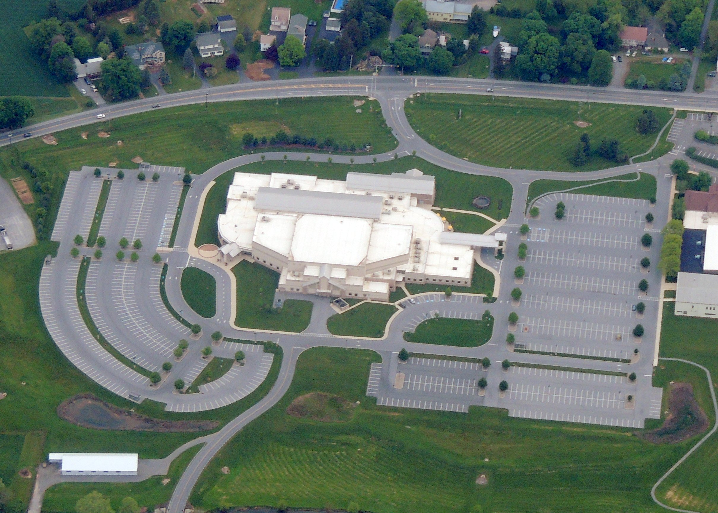 "Very large church in Lancaster PA...... ""The Worship Center"""