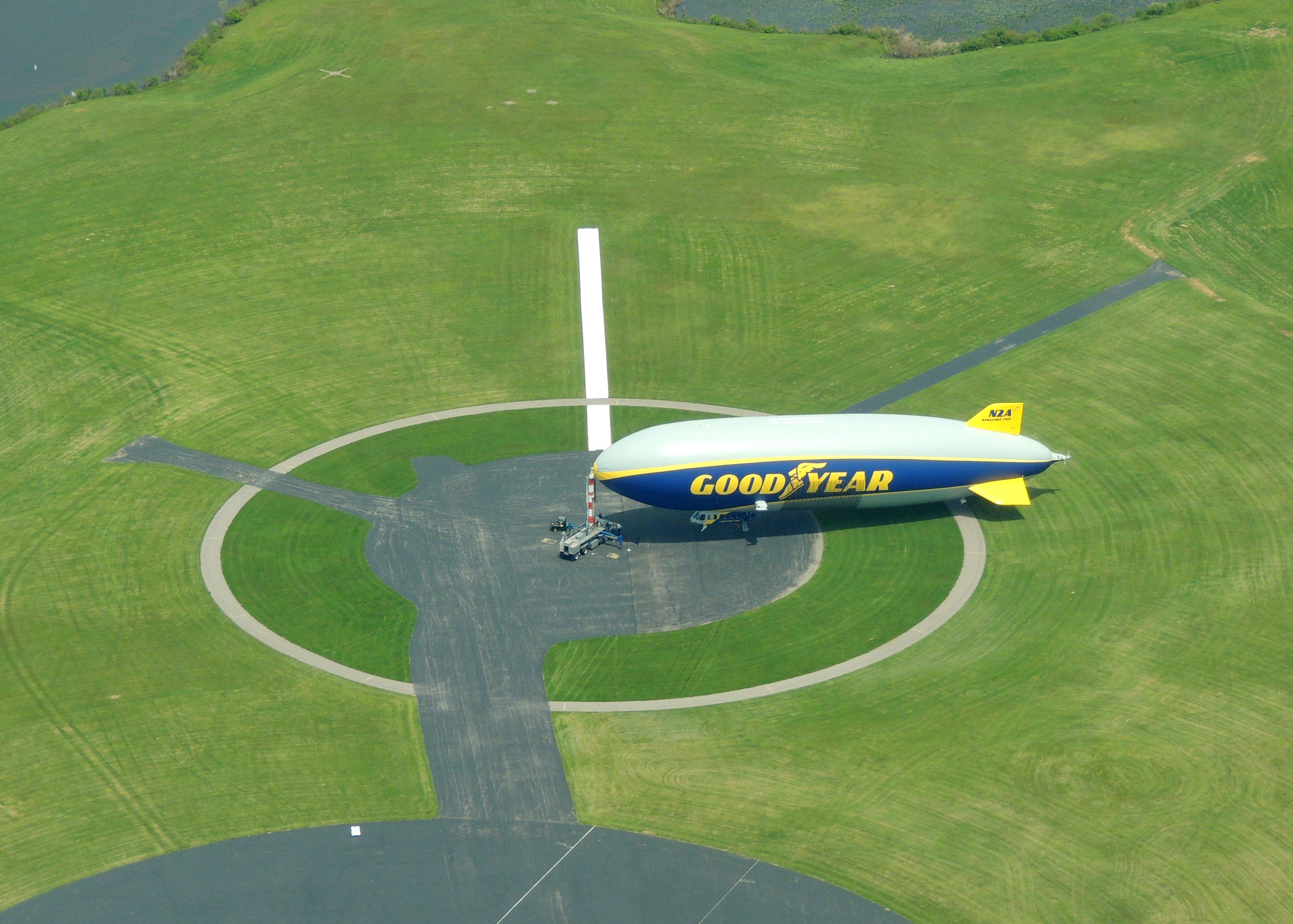 Goodyear Blimp  (Wingfoot Lake Airship Operations.... Ohio)