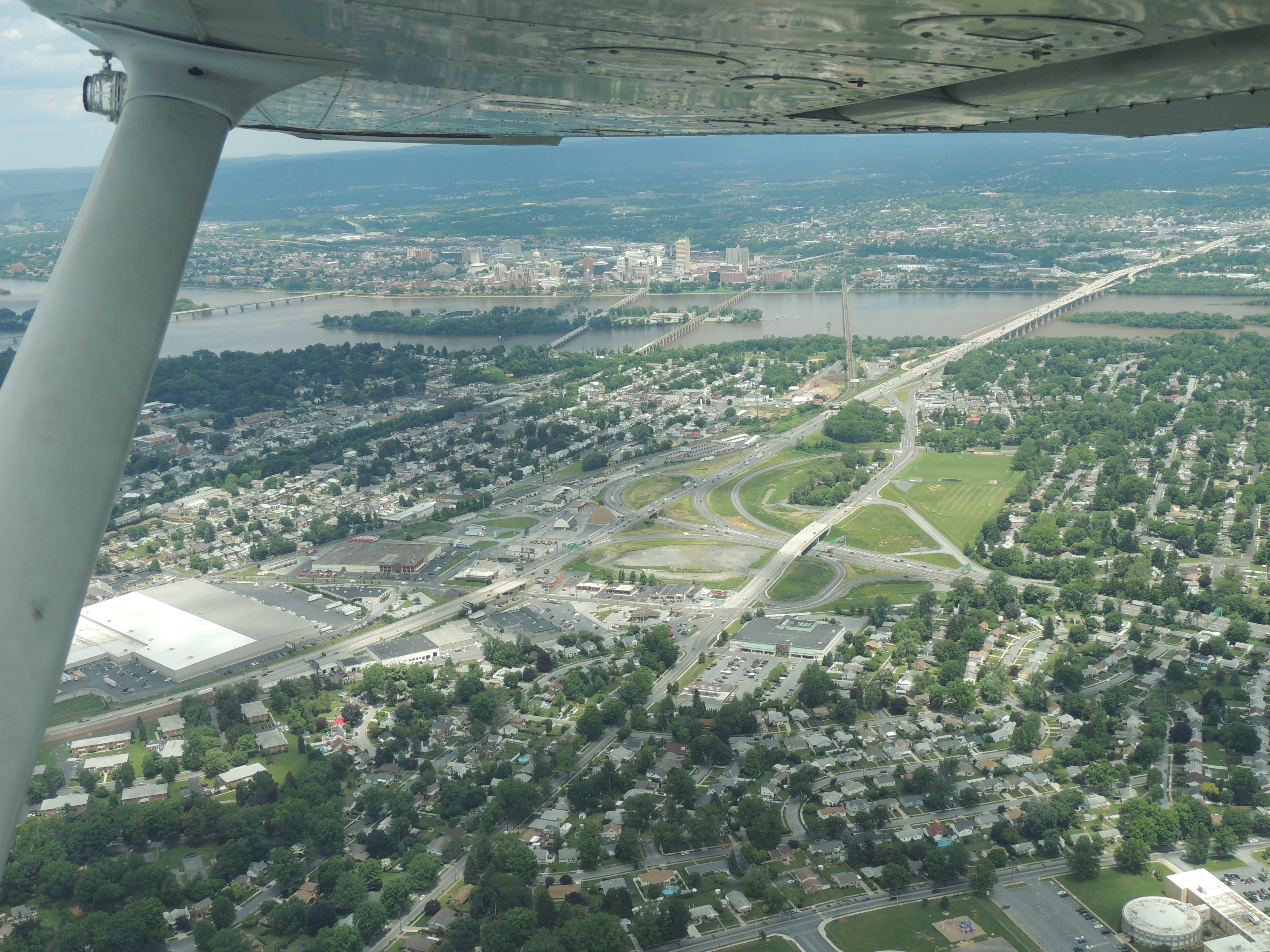 Harrisburg under our wing