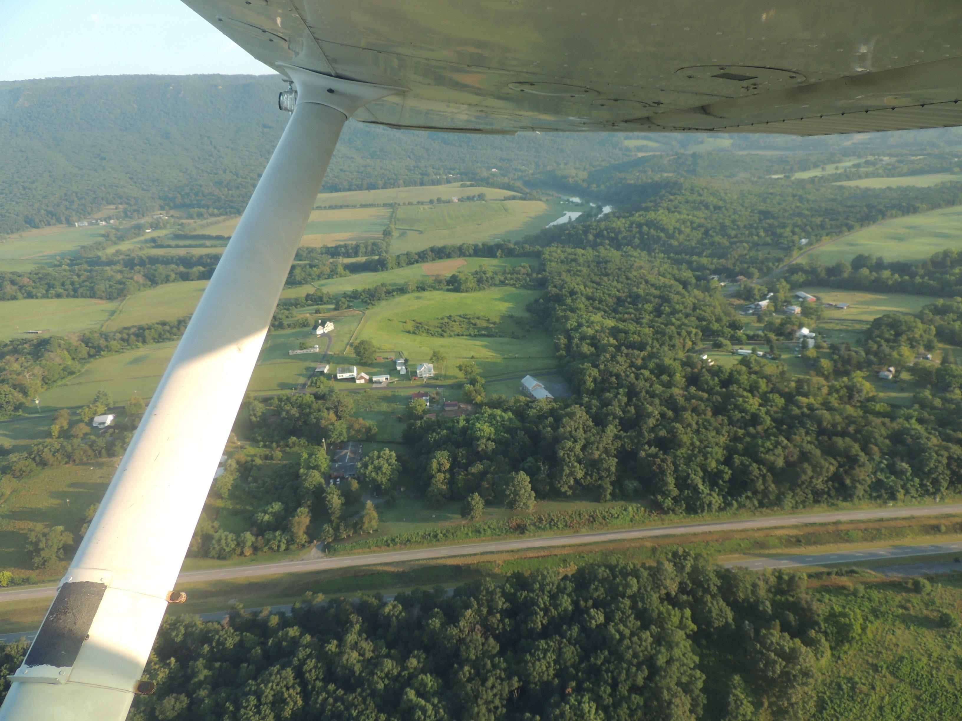 Departing Luray VA