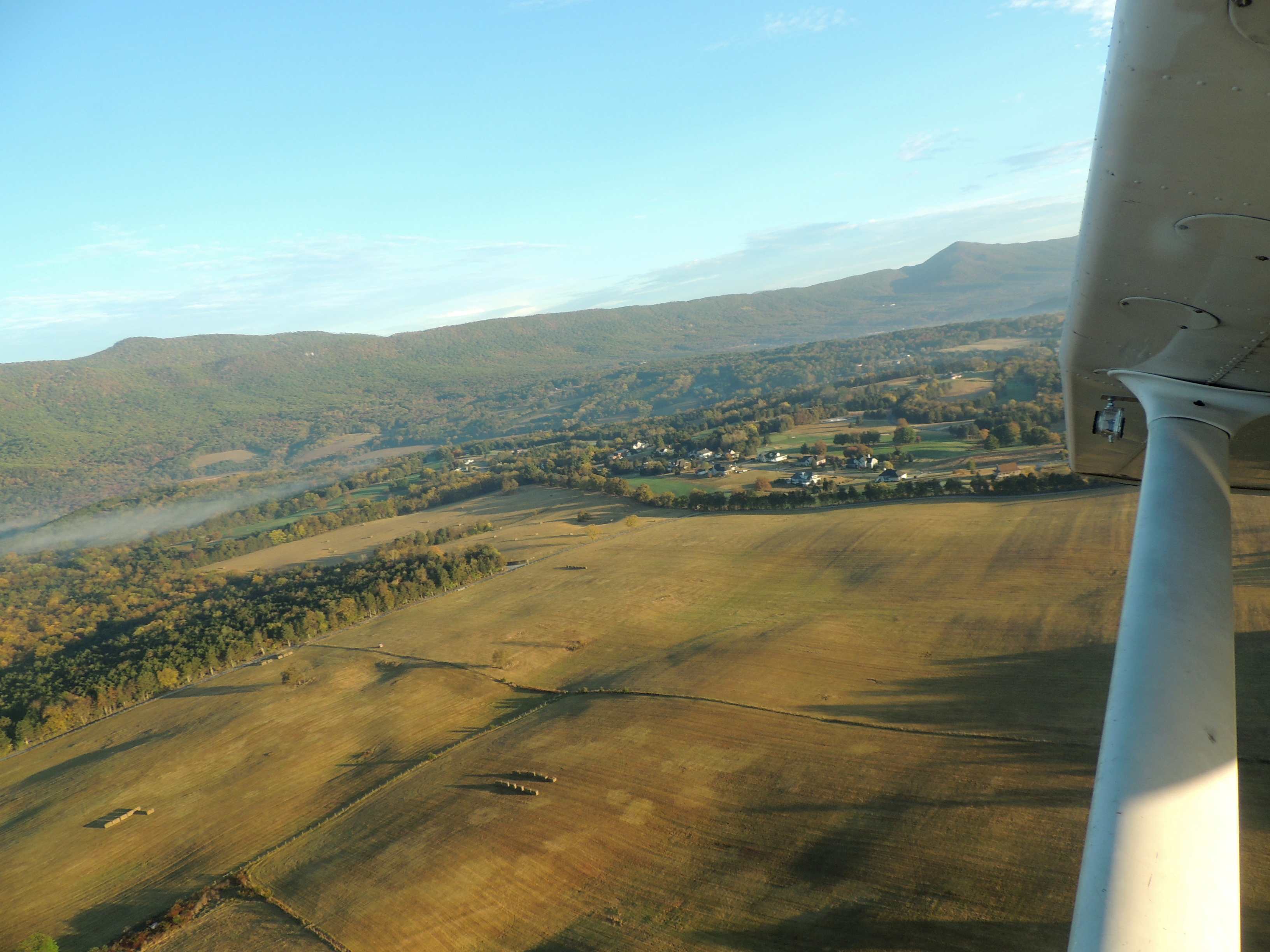 Departing Home Base Luray on a beautiful fall morning