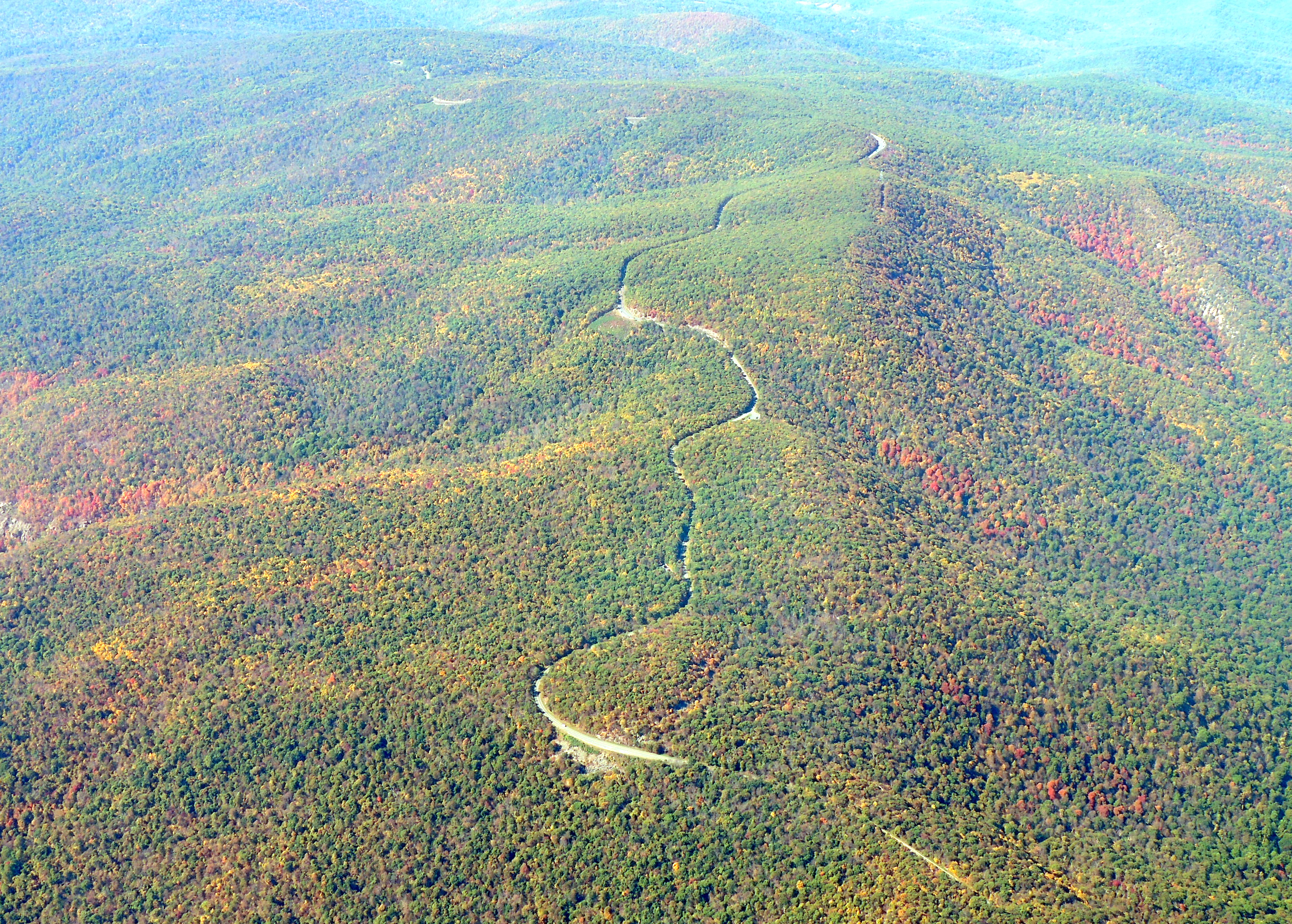 The Beautiful Skyline Drive (Virginia)