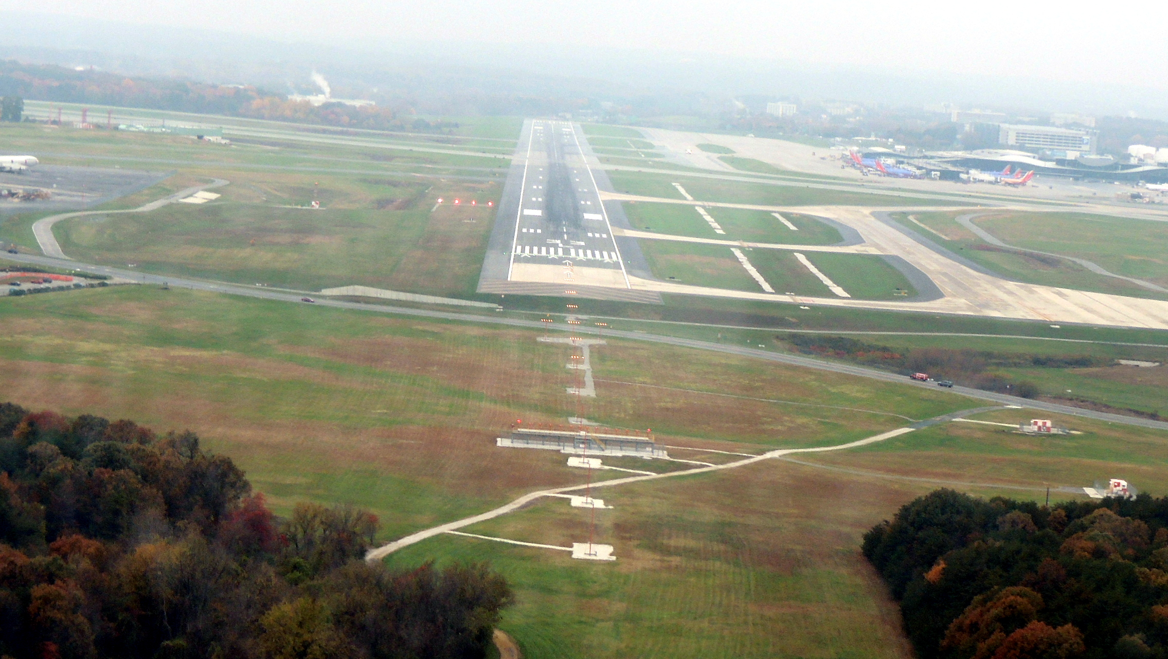 Cleared to land 33L at BWI (Baltimore MD)