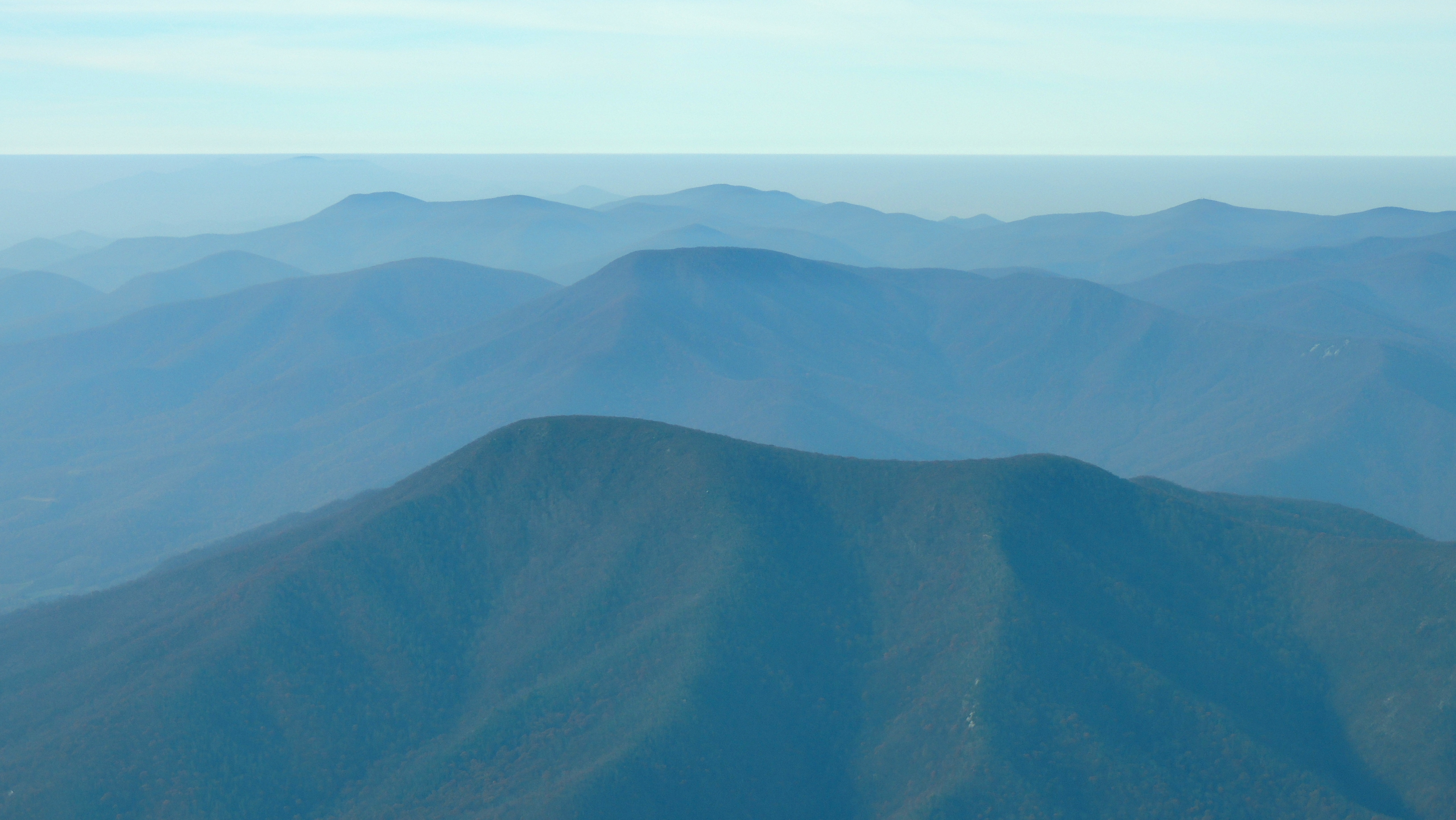The Beautiful Blue Ridge Mountains of Virginia