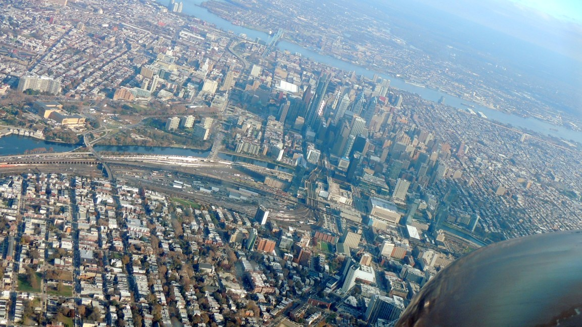 In a turn directly over Philly PA