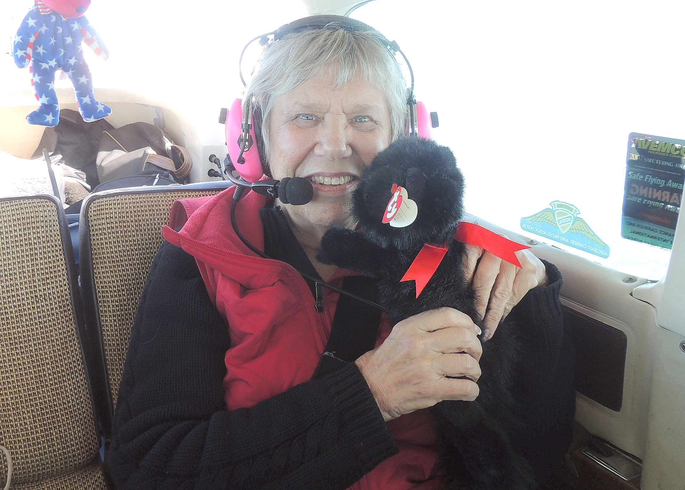 Elaine with her new Kitty...... (Hope it gets along well with her Dog)