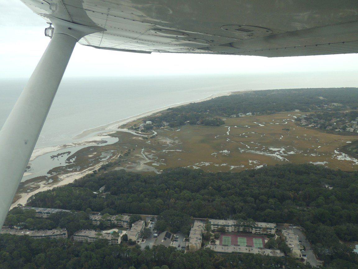 Departing Hilton Head Island