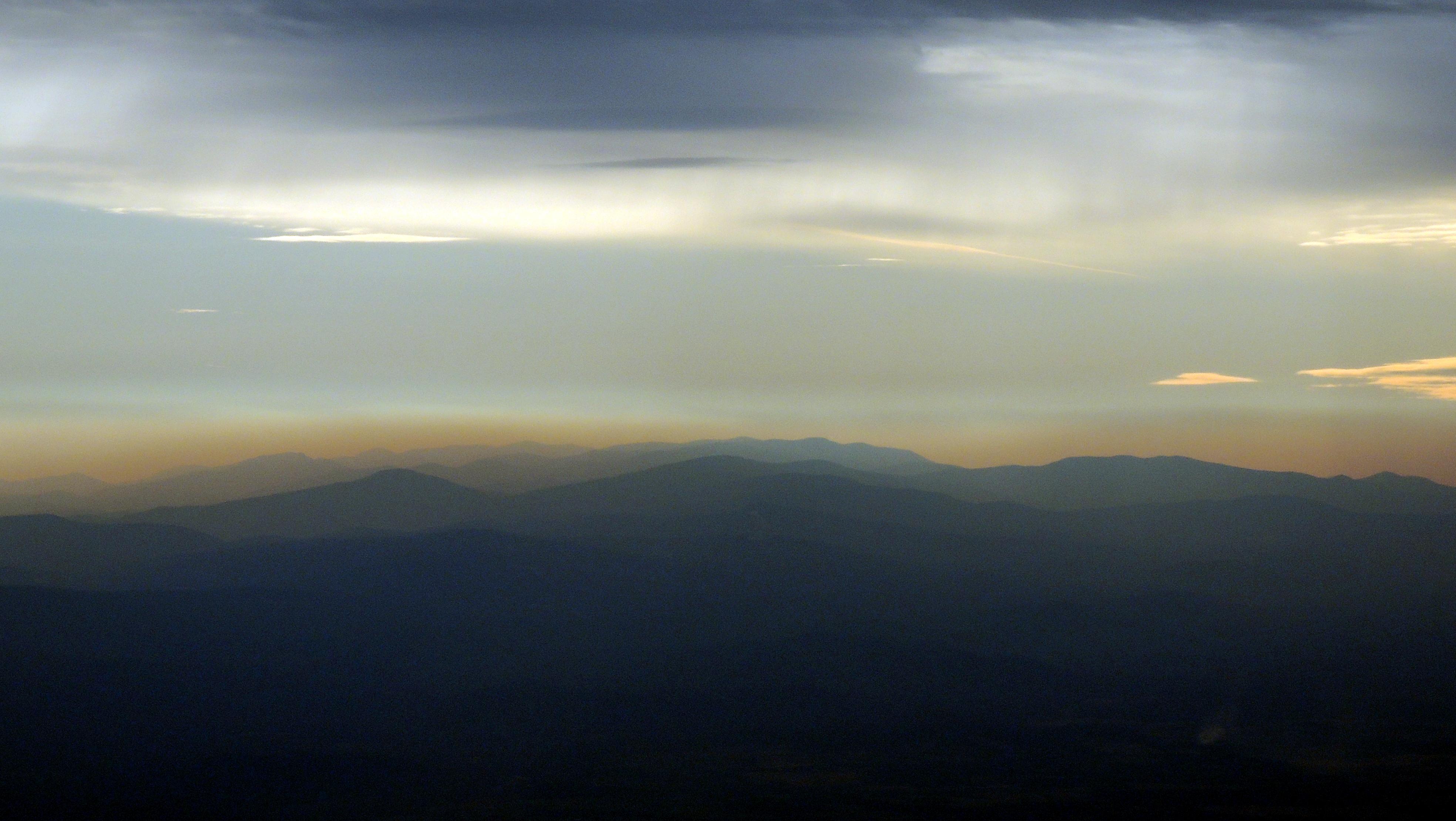 The Beautiful Blue Ridge Mountains of Virginia