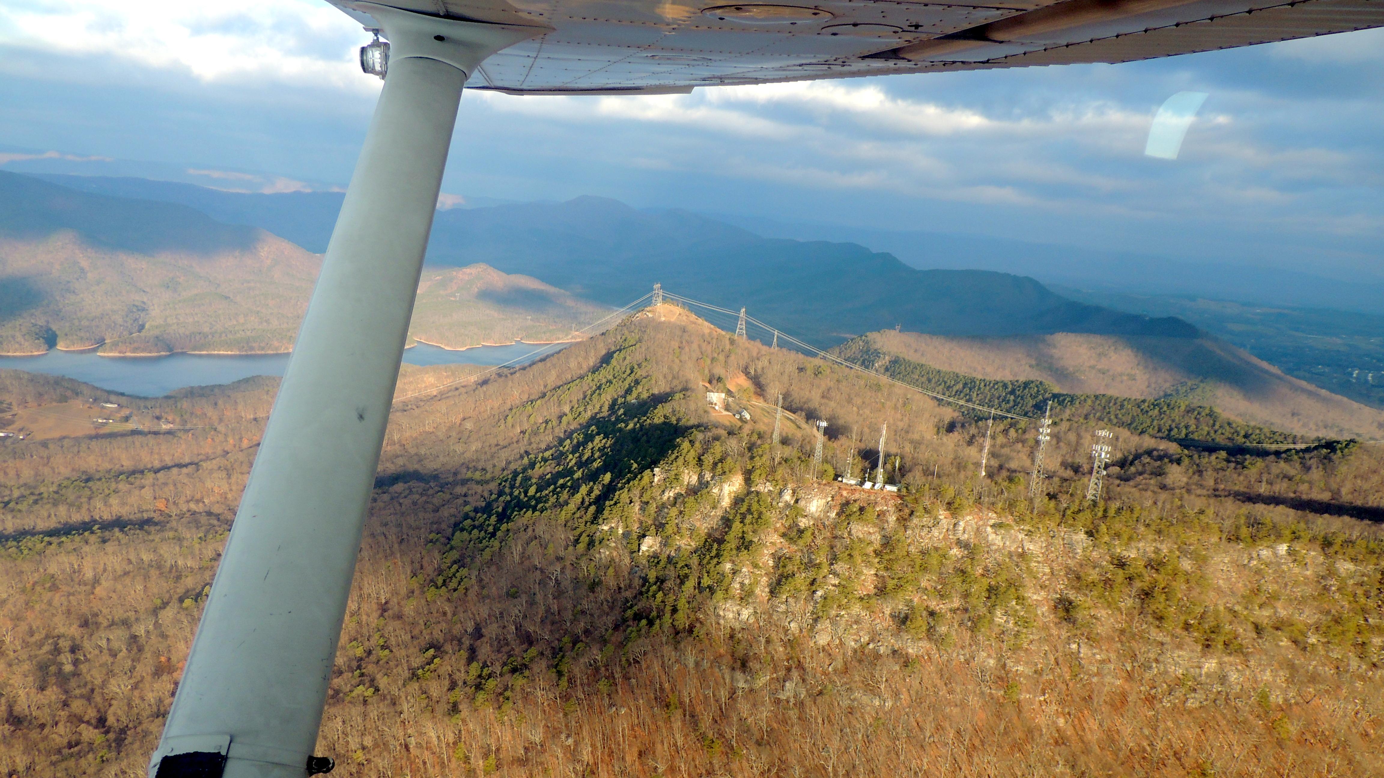 On approach into Roanoke