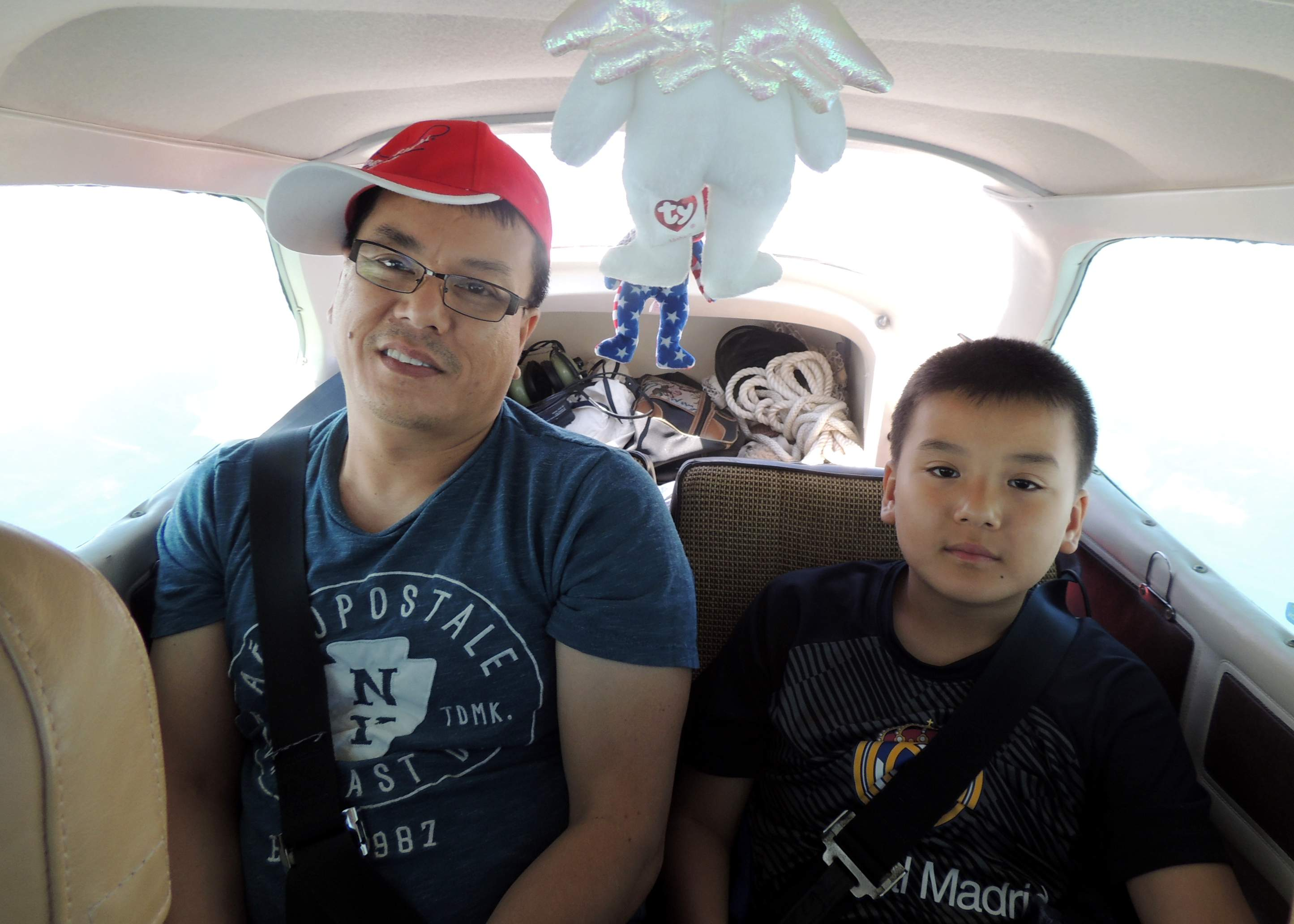 On our way to Manassas VA with Sam and his dad James