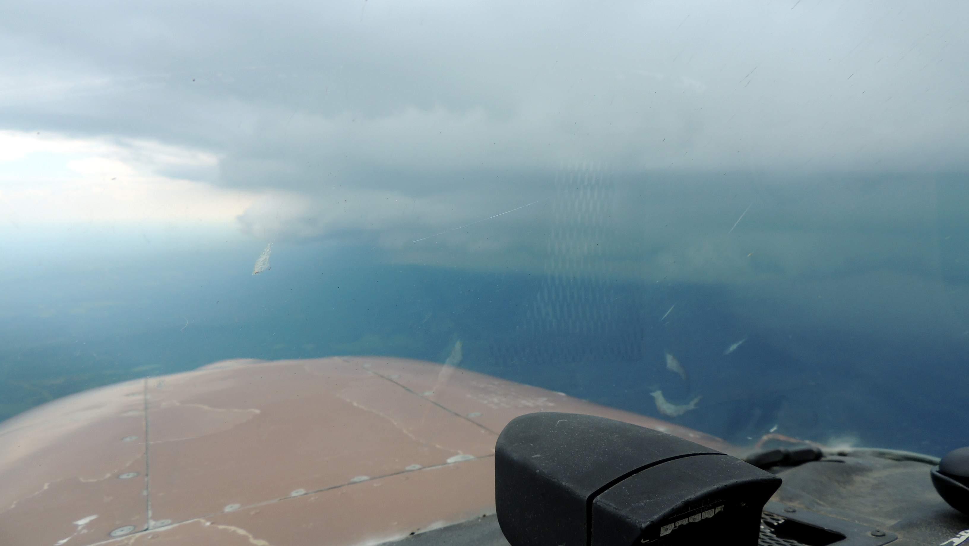 Skirting around another storm close to Lynchburg VA
