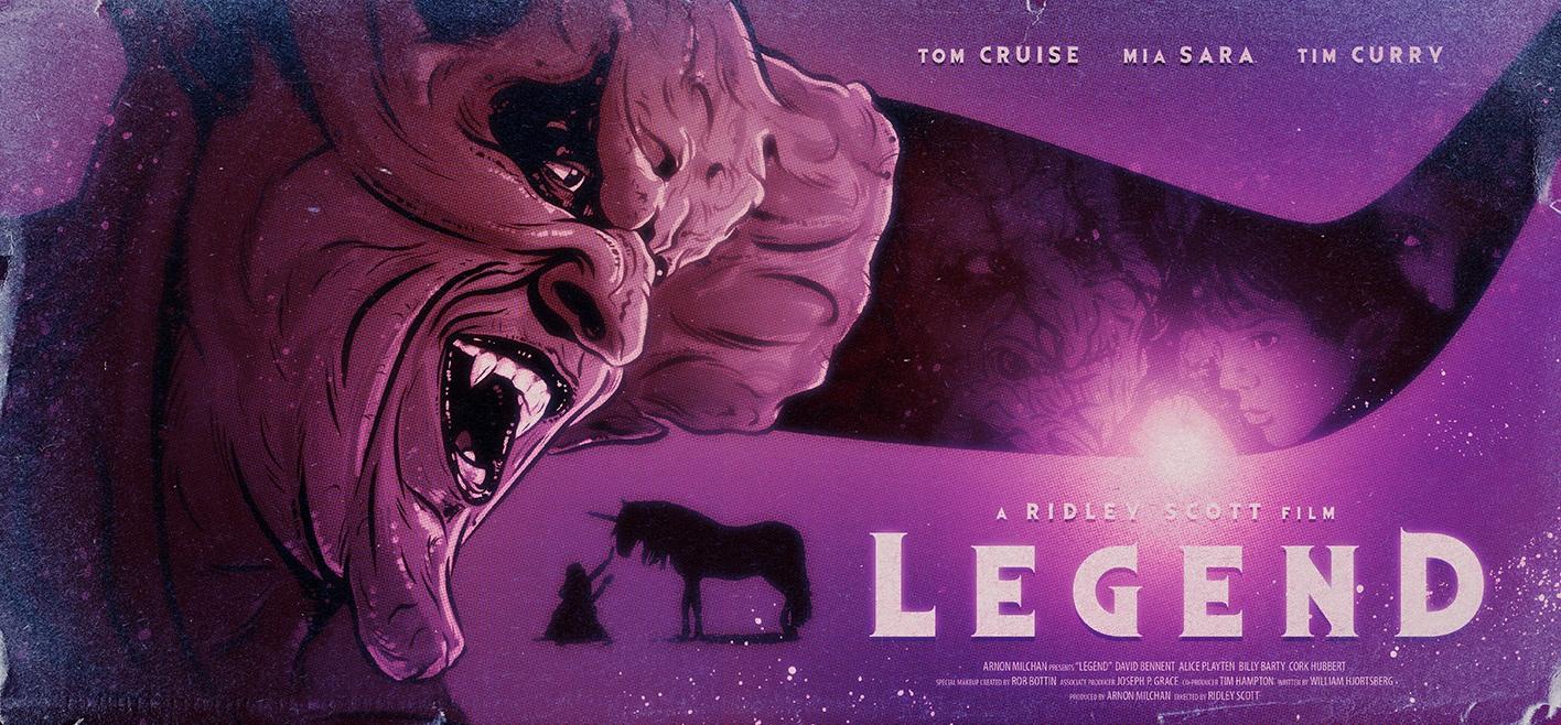 Legend Ridley Scott Poster