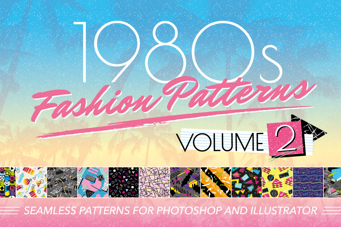 1980s Fashion Patterns Vol Two