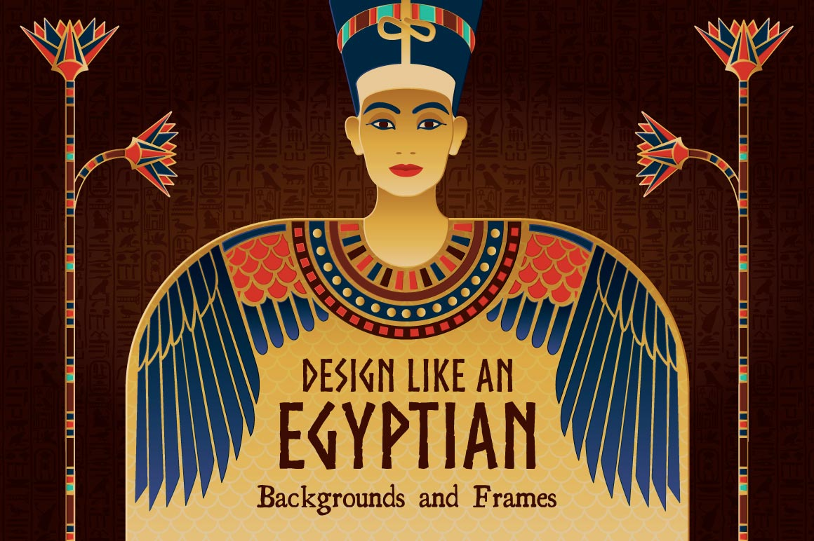 Egyptian Designs and Illustrations