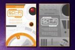 Sci-Fi Illustrations and Design Templates