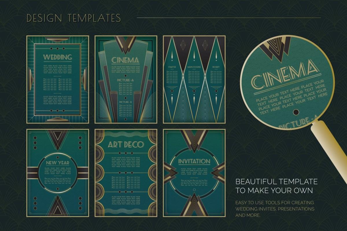 Art Deco Stock Graphics
