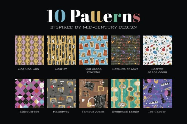Mid-Century Patterns Vol: 1
