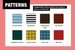 Seamless Fashion Pattern Swatches