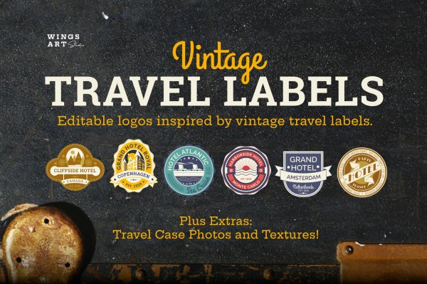 Vintage Tavel Labels