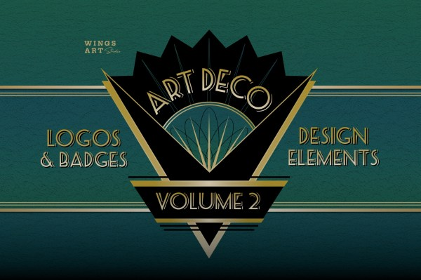 Art Deco Logo Templates Vol 2