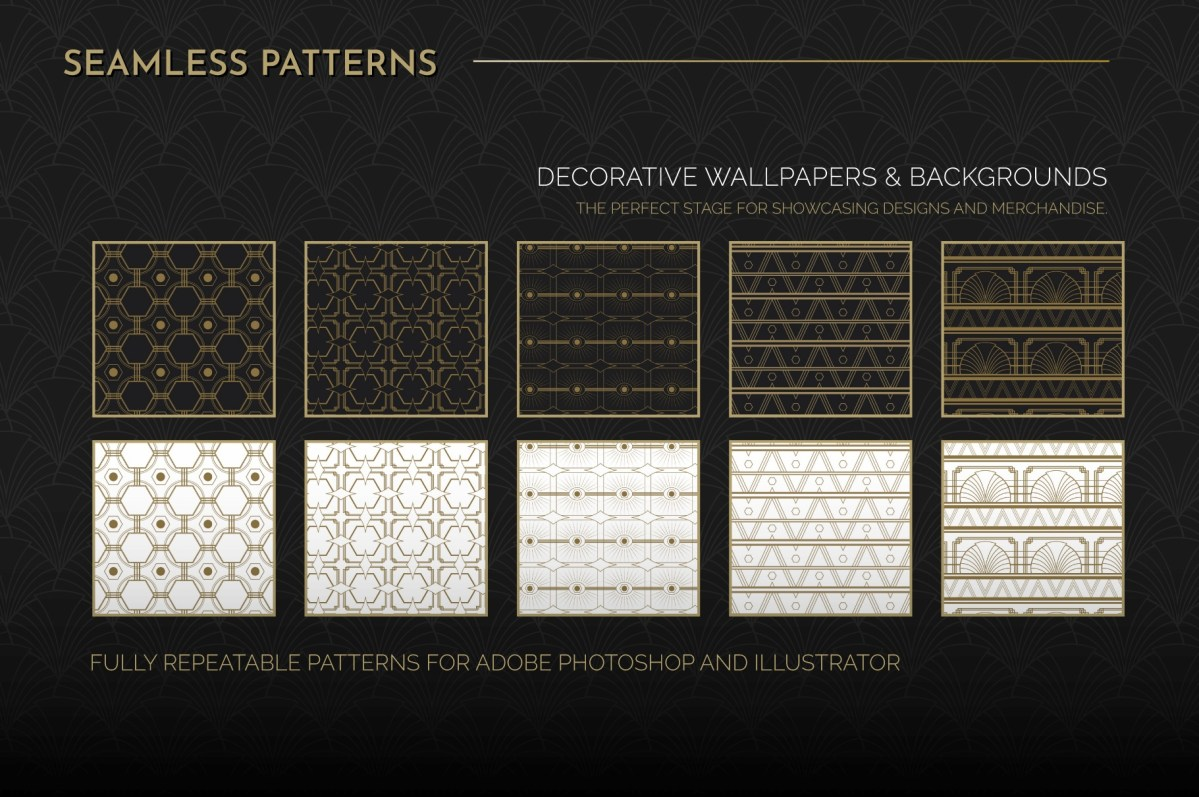 Art Deco Seamless Patterns Vol 1_01