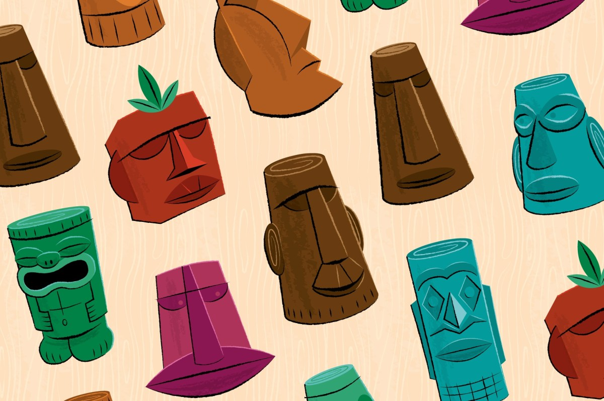 Tiki Idols Illustrations