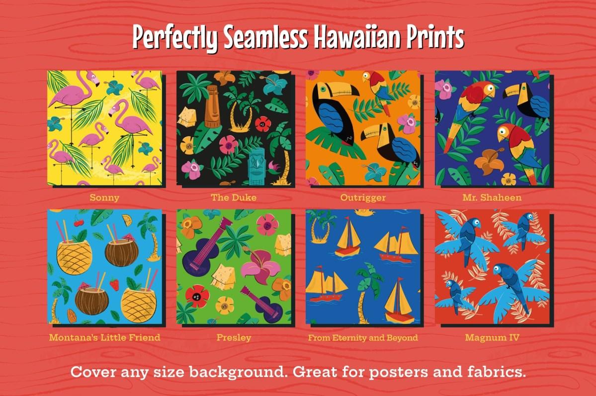 Tiki and Hawiian Prints