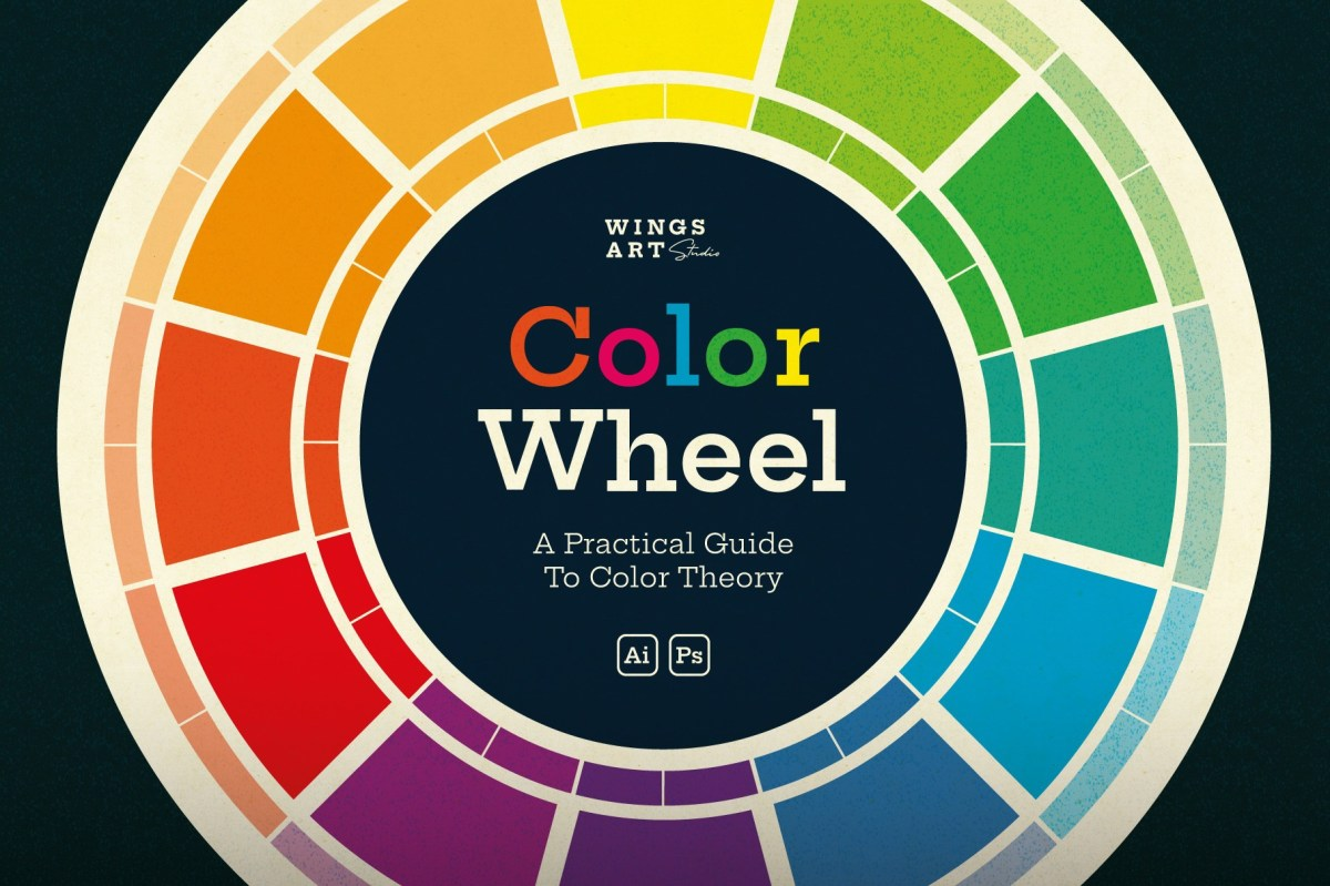 Master colour theory with this simple colour wheel