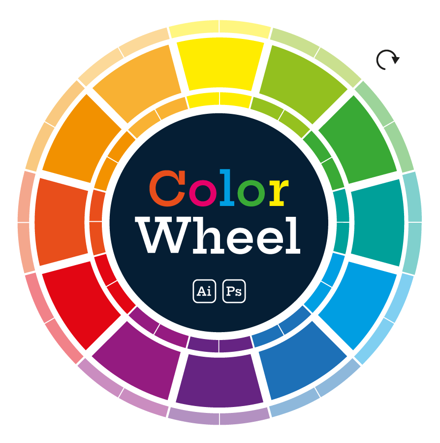 Wing's Color Wheel - free - creativemarket