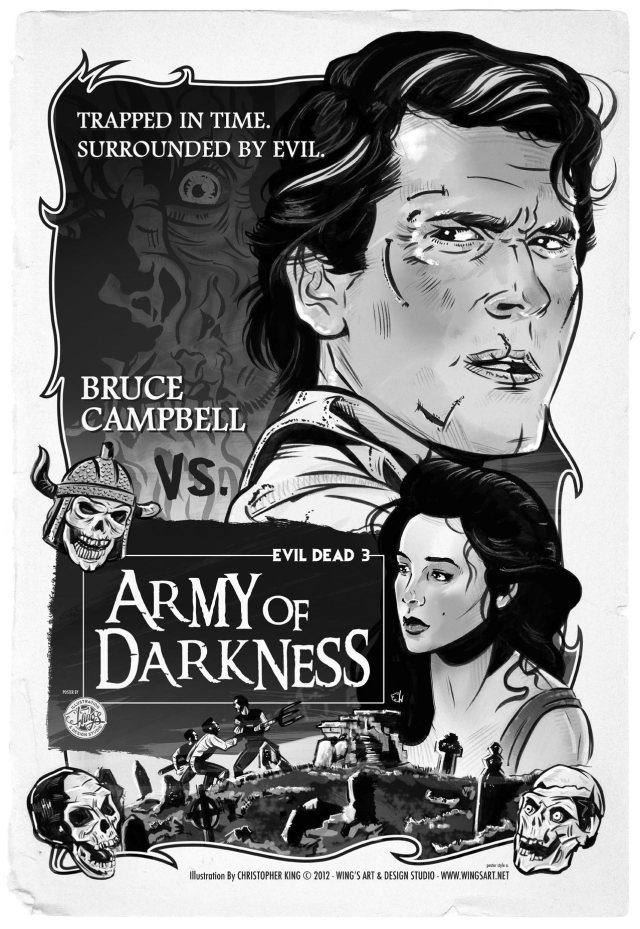 Army of Darkness Movie Poster Art