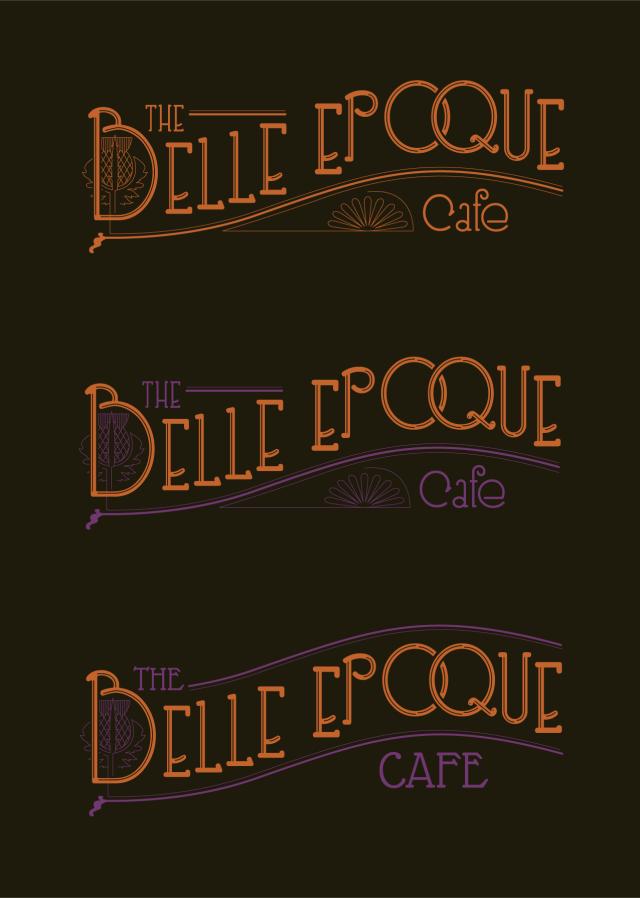 The Belle Epoque Art Deco Logo Design
