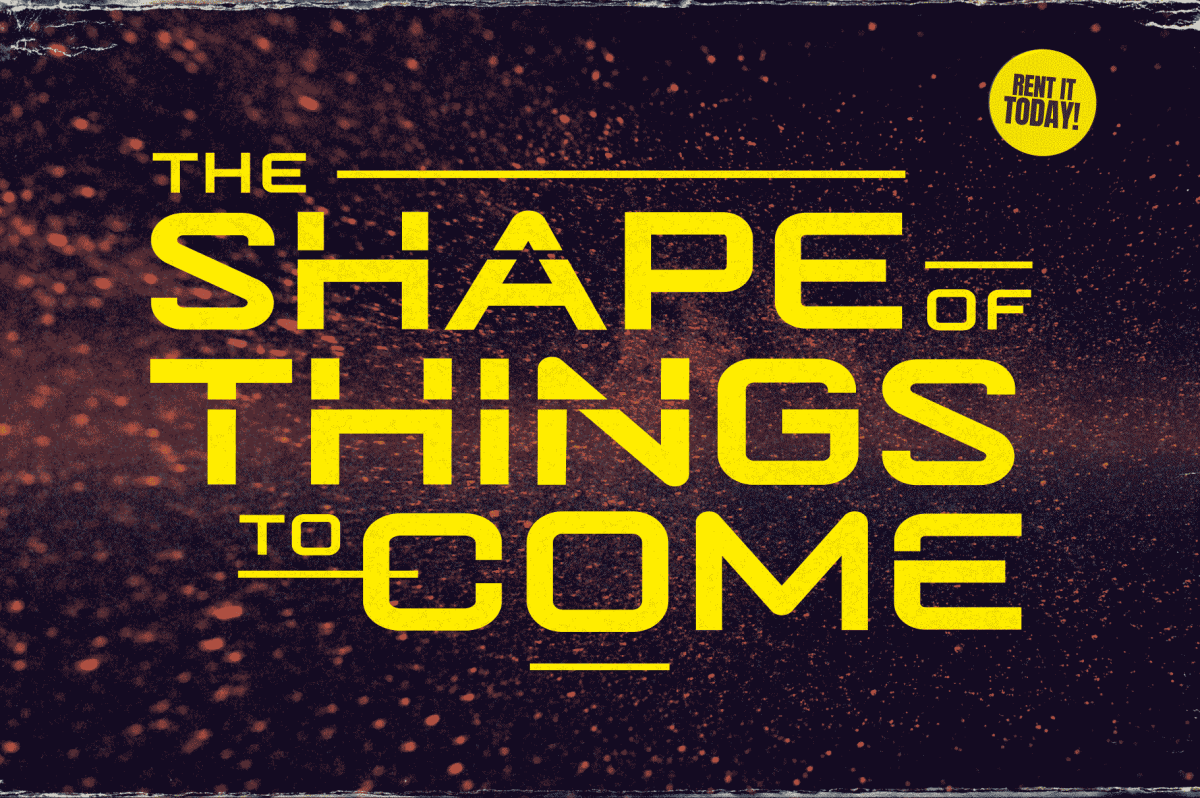 The Shape of Things to Come Title Design