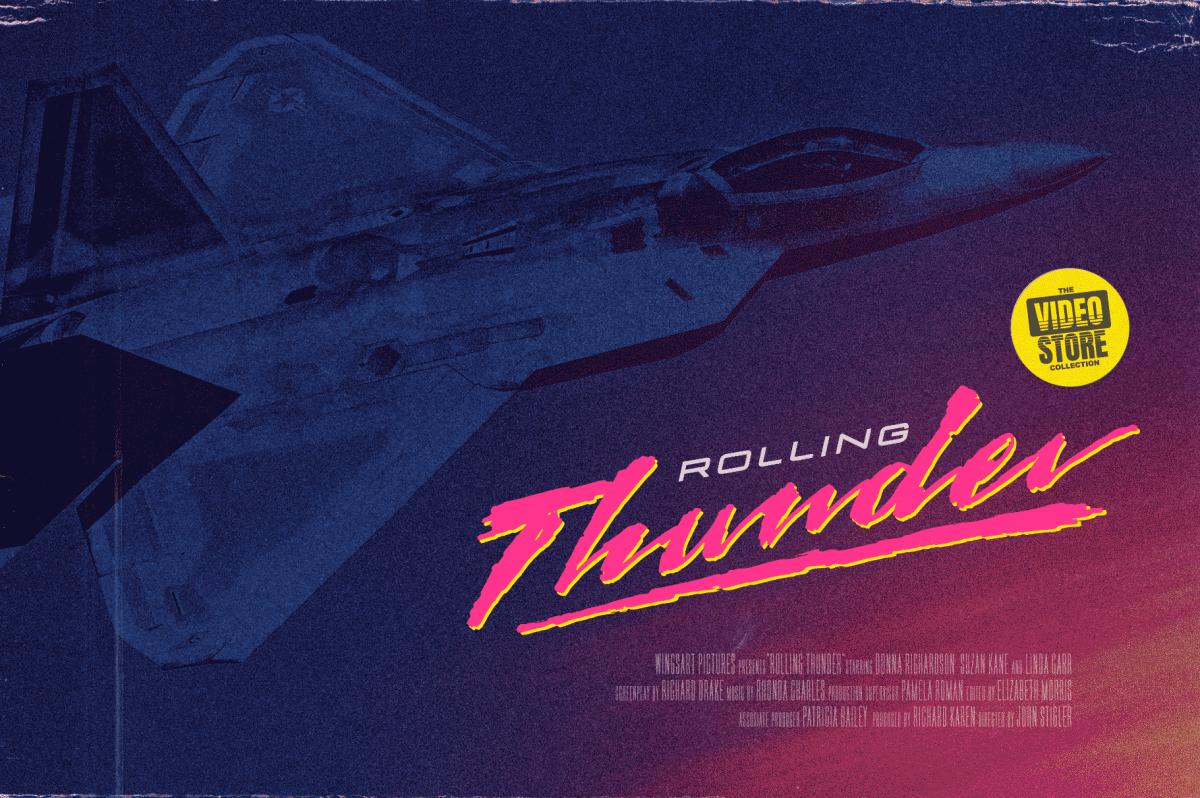 Days of Thunder Font Design