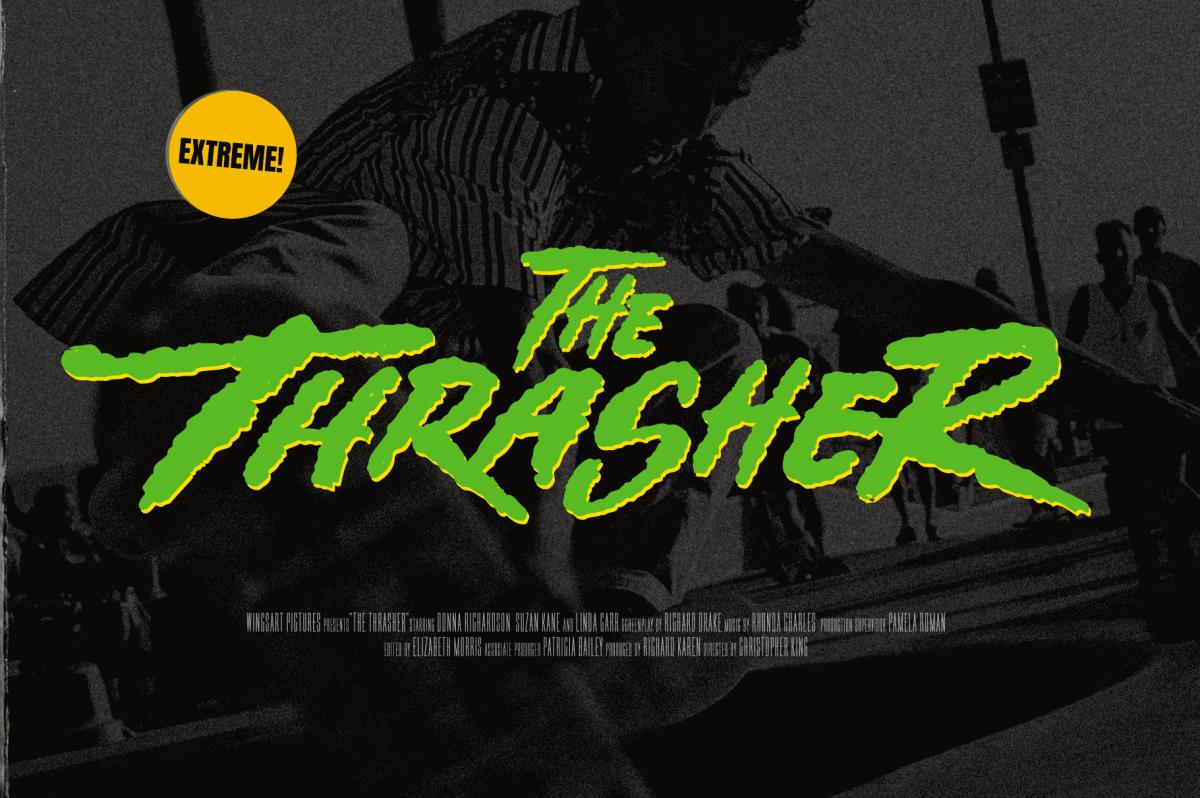 Street Punks: Thrasher Font Design