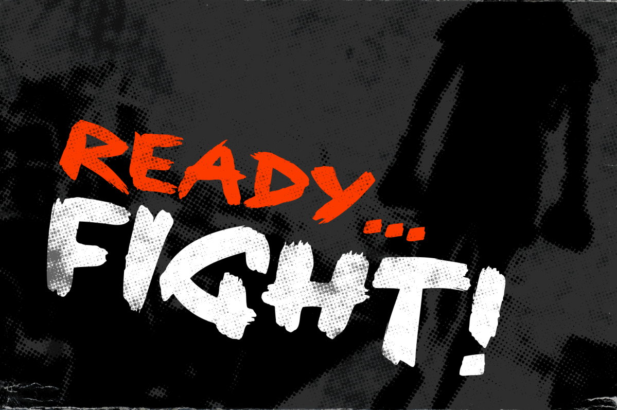 Ready, Fight - Movie Title Design by Christopher King