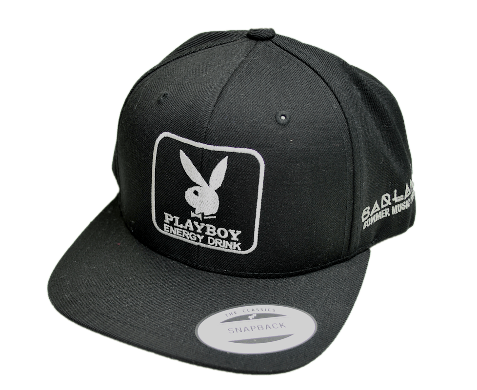 playboy embroidered cap