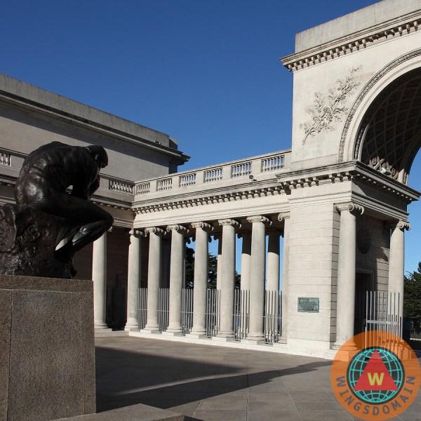 Thinker San Francisco Palace Of Legion Honor