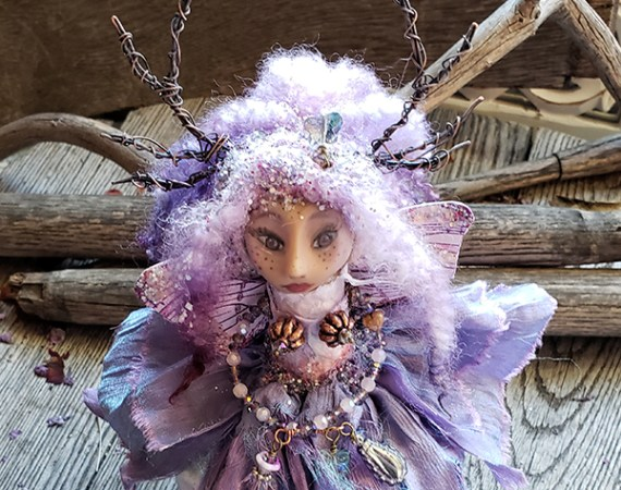 Aerwana - Inner Child Art Doll