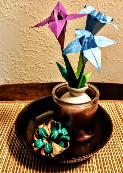 Lilies used as a floral arrangement