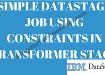 SIMPLE-DATASTAGE-JOB-USING-CONSTRAINTS-IN-TRANSFORMER-STAGE