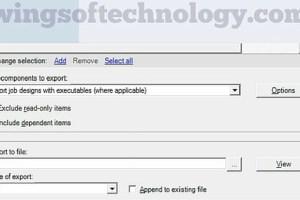export-datastage-jobs-option