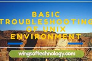 BASIC-TROUBLESHOOTING-OF-UNIX-ENVIRONMENT