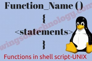 functions-in-shell-script