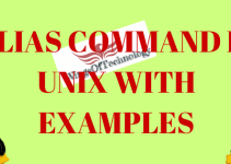 UNIX-alias-COMMAND-AND-EXAMPLES