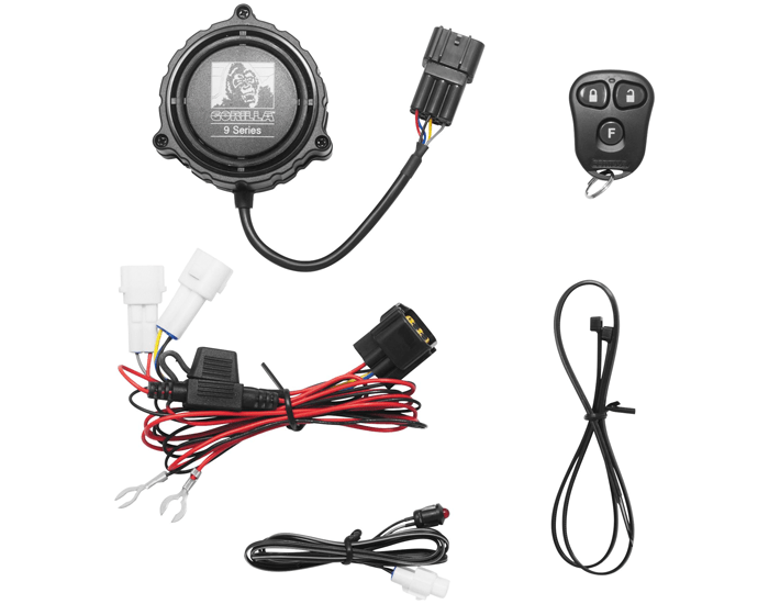 9000 Cycle Alarm /w Remote Transmitter