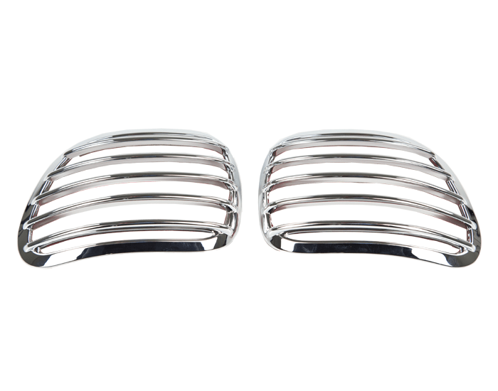 Chrome Mirror Back Grills for GL1800