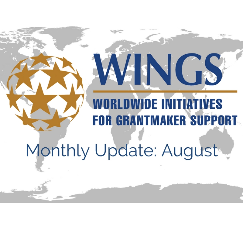 WINGS Network Monthly Update – August