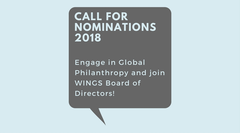 WINGS BOARD – Call for Nominations 2018